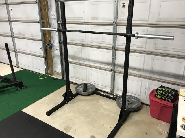 My garage gym: more about it than you ever wanted to know three